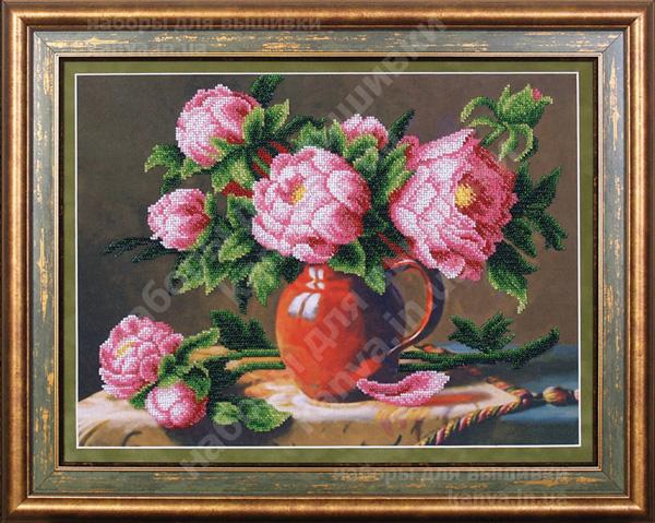 Розовые пионы [Б-054]