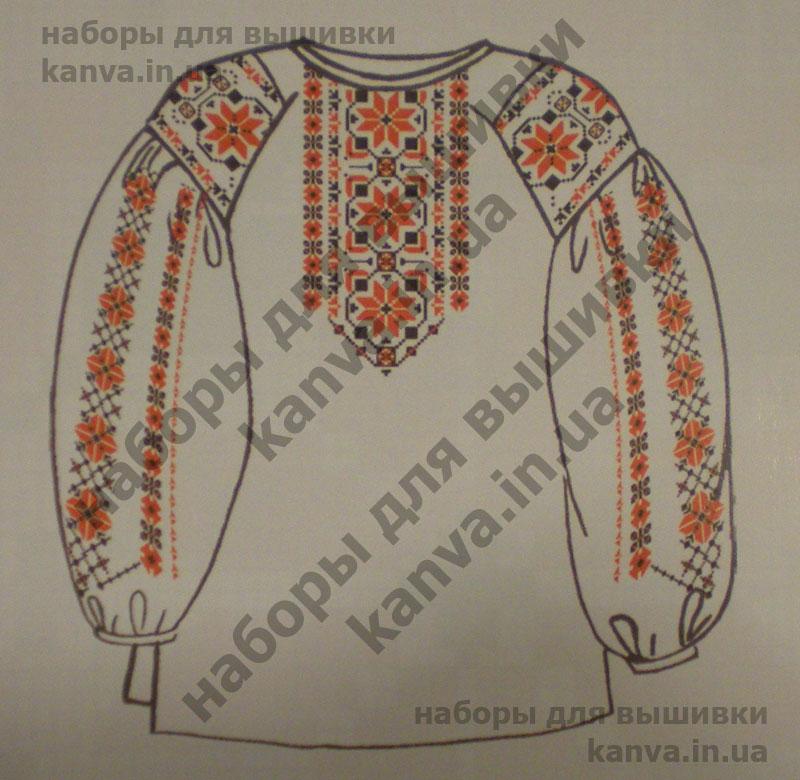 Сорочка женская под вышивку