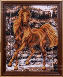 Аллюр [Б-075], набор для вышивания бисером ТМ Магия Канвы