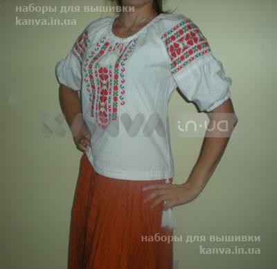 Сорочки женские под вышивку