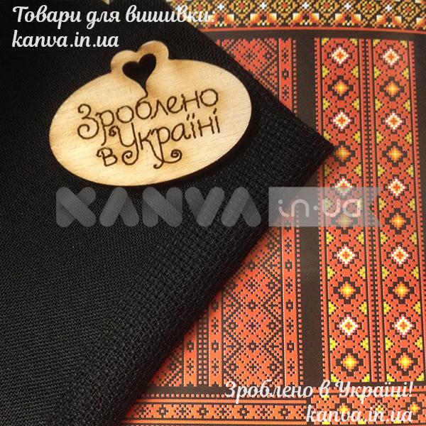 ... Рубашка мужская черная под вышивку крестом с коротким рукавом 71ef21e008223