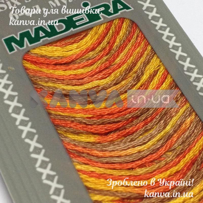 2412 Меланж Sunset мулине Madeira 10 м