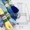 С-1 схема+муліне для вишиванки чоловічої