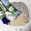 С-54 схема+мулине для женской вышиванки