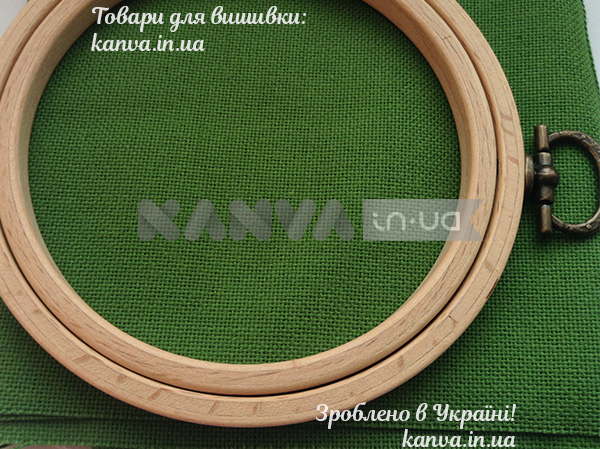 5 зеленый Полотно домотканное №30 1,50 м 100% хлопок