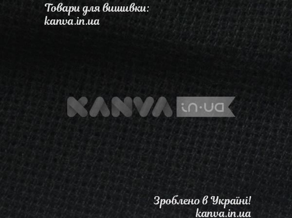 Ткань ТВШ-24 1/1 черный Аида 16, Луцк