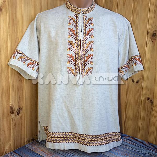 Льняна сорочка рр44-62 чоловіча під вишивку за 390 грн 5b2a10f67d3ca