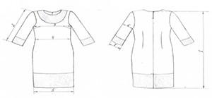 Сукня-пояс