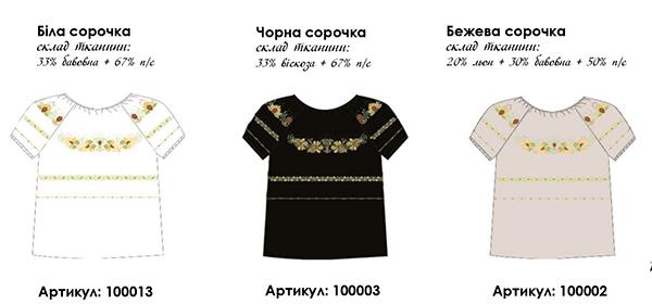 Сорочка жіноча під вишивку бісером a2a18d9a9179b