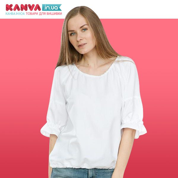 Жіноча сорочка з короткими рукавами р48 _023
