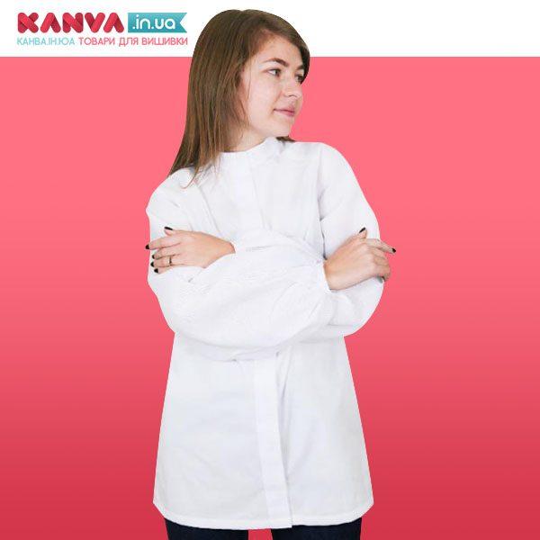 Сорочка з широкими рукавами жіноча під вишивку