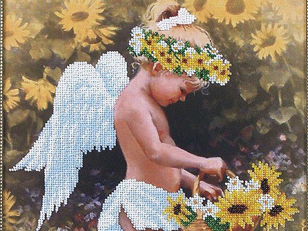 Вишивка бісером АНГЕЛ, набір [Мой ангел Б-017]